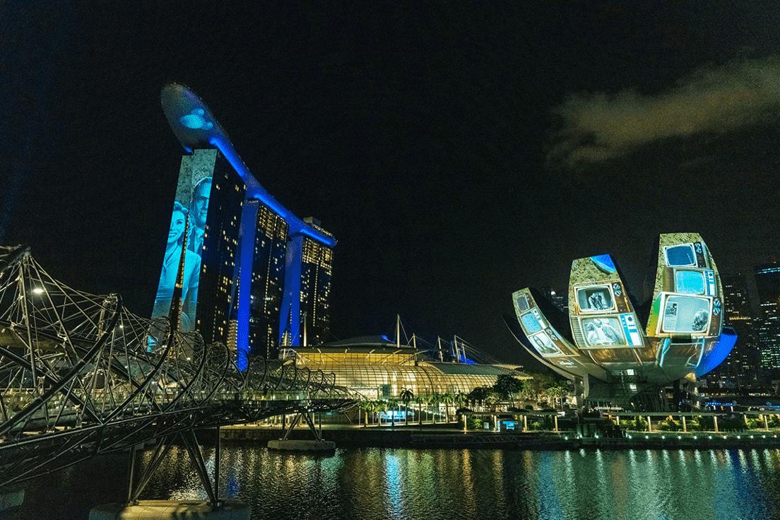 Singapore skyine
